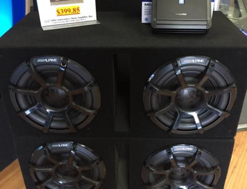 "Alpine Dual 12"" Bass Package Deal!"