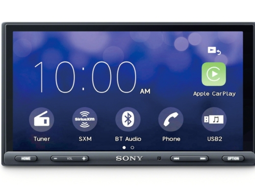 Sony's Brand New Apple CarPlay and Android Auto Unit