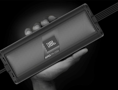 New JBL Apex Compact Amplifiers Now in Stock!