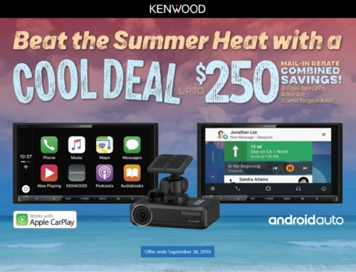 Beat The Heat With Kenwoods Cool Summer Radio Deal!