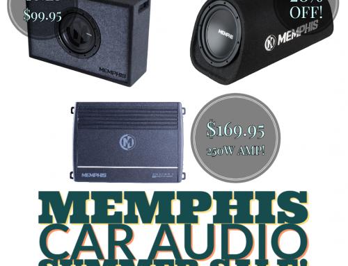 Memphis Audio Summer Sale!